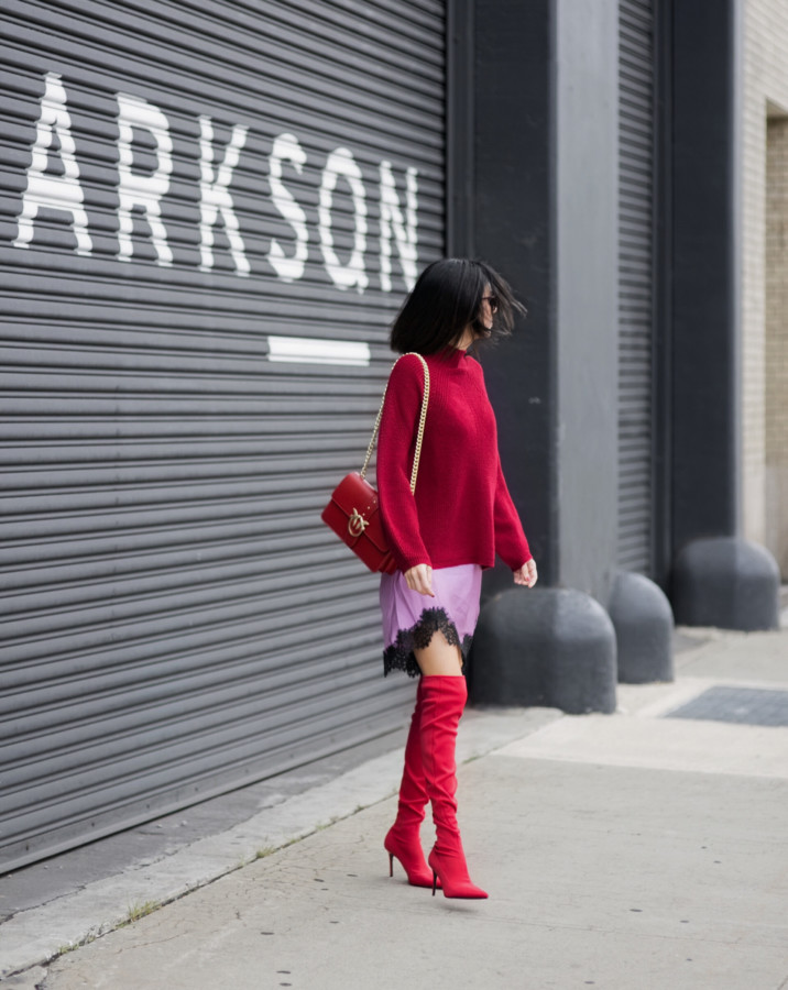 Fashion Diary {VIDEO}: NYFW Street Style with Pinko