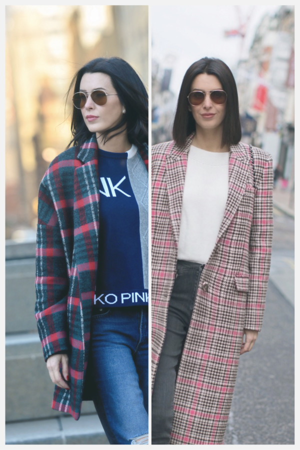 2 Ways to Wear a Tartan/Check/Plaid Winter Coat